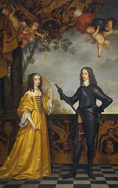 File:Willem II prince of Orange and Maria Stuart.jpg