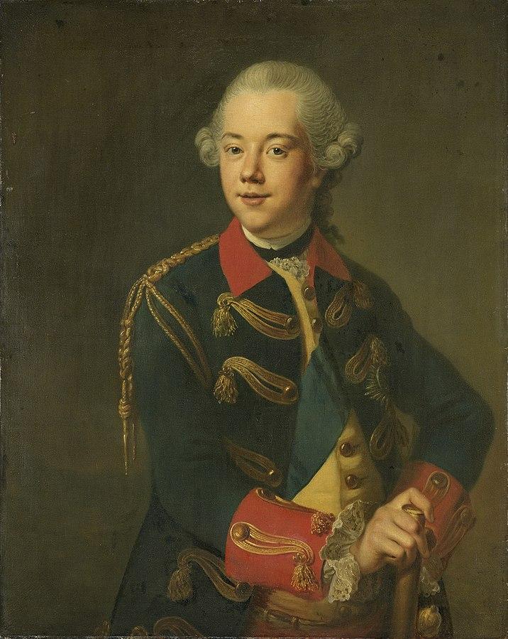 Portrait of William V, Prince of Orange-Nassau