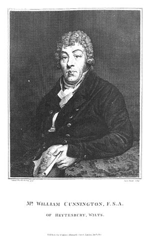 William Cunnington - Portrait of William Cunnington, by Samuel Woodforde