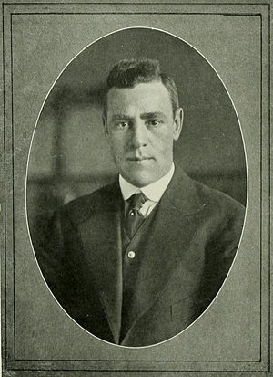 Bill Fetzer - Pictured in Quips and Cranks 1917, Davidson yearbook