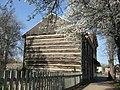 William Rainey Harper Log House in the morning.jpg