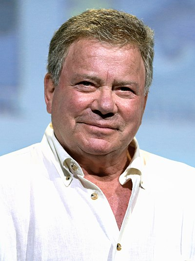 William Shatner, Canadian actor, musician, recording artist, author and film director