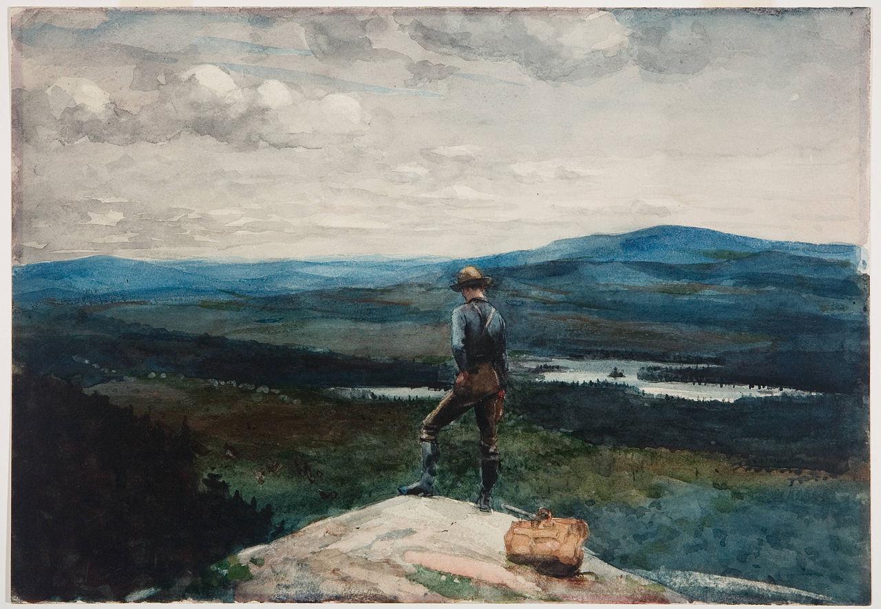 Filewinslow Homer The Ranger Adirondacks Jpg