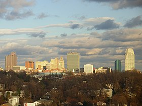 Winston Salem skyline, January 2006.jpg