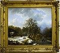 Winter landscape by Koekkoek, 1837.jpg