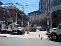 Wire reinstallation in Bennett Alley, April 2017.JPG