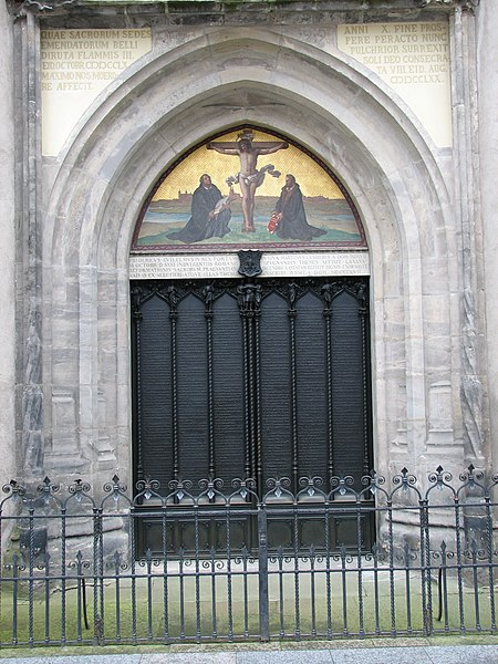 File:Wittenberg Thesentuer Schlosskirche.JPG