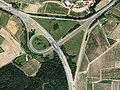 Wolnzach Autobahndreieck Holledau Aerial.jpg
