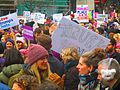 Women's march to denounce Donald Trump, in Toronto, 2017 01 21 -dk (32340209981).jpg