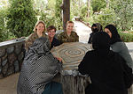 Women from 203rd Zone Afghan Border Police and TAAC-S attend shura at Kandahar Airfield, Afghanistan 150809-A-ZZ999-035.jpg