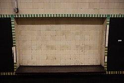 WoodGreen - Bench on eastbound platform before (4570667707).jpg