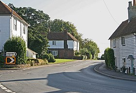 Wooden Fronted Houses in Rolvenden - geograph.org.uk - 237925.jpg