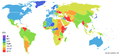 World Inflation rate 2007.PNG