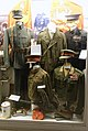World War 2 Norwegian Army uniform King Crown prince banners Nordahl Grieg greatcoat British general uniform Medical doctors Ribbon bars Madsen maskingevær etc Lofoten krigsminnemuseum 2019-05-08 0299.jpg