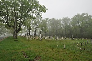 Center Cemetery - Image: Worthington MA Center Cemetery