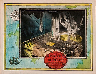 The Wreck of the Hesperus (1927 film) - Lobby card