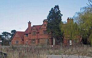 Wrexham Road Farm, Eccleston - Wrexham Road Farmhouse in 2010