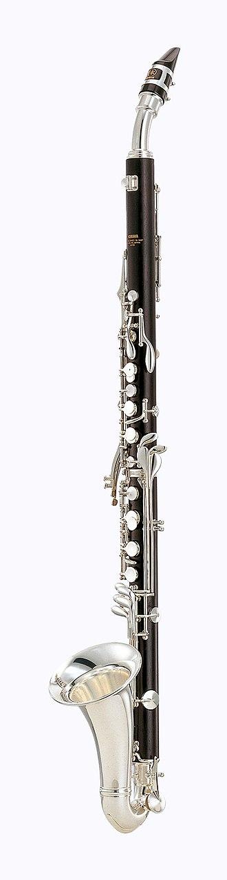 Alto clarinet - Image: Yamaha Alto Clarinet YCL 631 II