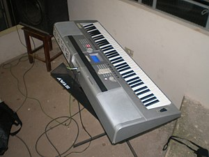 Keyboard expression - A 2000s-era digital keyboard