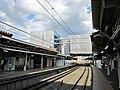 Yamanashishi Station platform 201906-1.jpg