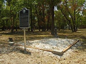 Jack Yates - Image: Yatesgrave Houston TX