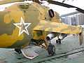 Yellow Mil Mi-24 Hind right rear side MW.JPG