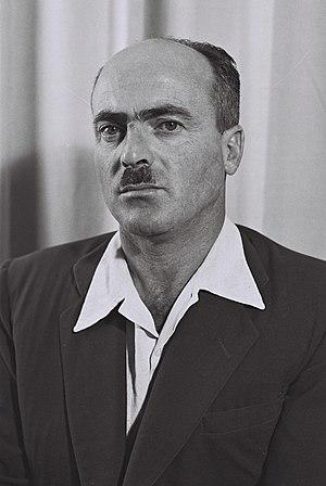 Yitzhak Ben-Aharon - Image: Yitzhak ben Aharon