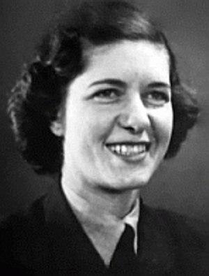 Yolande Beekman - In WAAF uniform during WW2.