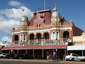 Australian pub - York Hotel in Kalgoorlie