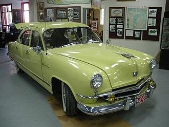 Ypsilanti Automotive Heritage Museum - Image: Ypsilanti Automotive Heritage Museum August 2013 07 (1953 Kaiser Traveler)