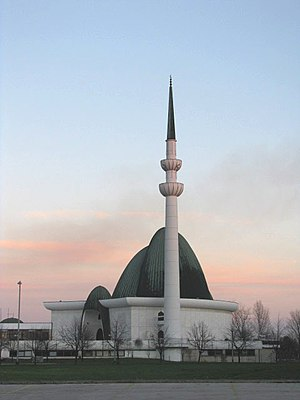 Islam in Croatia - Zagreb Mosque was completed in 1987.