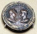 Zecca di roma, medaglione bimetallico di treboniano gallo e volusiano, 251 dc, da BNF.JPG