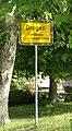 Zeichen 310 - Ortstafel Drogen, Landkreis Altenburger Land, 2006.jpg