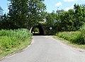 Zelené Předměstí, východní silniční most přes severní prodloužení ulice U Trojice.jpg