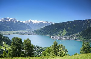 Zell am See - View over Lake Zell
