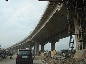 Zirakpur Flyover under-construction