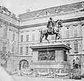"""""""Equestrian monument in an unidentified location"""" = Emperor Joseph II in the Josefsplatz, Vienna! (9404901487).jpg"""
