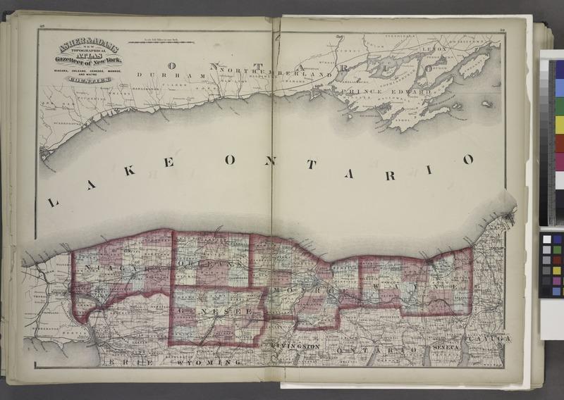 "File:""Niagara, Orleans, Genesee, Monroe, and Wayne counties"" NYPL1575787.tiff"