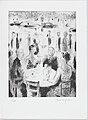 """Tertulia de café"", a group of figures seated around a table (number 5) MET DP876077.jpg"