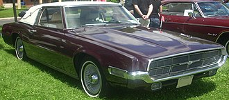 Ford Thunderbird (fifth generation) - Image: '69 Ford Thunderbird (Rassemblement Saint Bruno De Montarville '10)