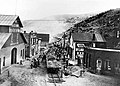 (2.19) CandS temporary track in Main Street of Black Hawk to remove mud and debris after the 1910 flood.jpg