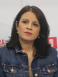 upright=Adriana Lastra in 2018