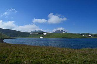 Kotayk Province - Lake Akna at the east of Kotayk
