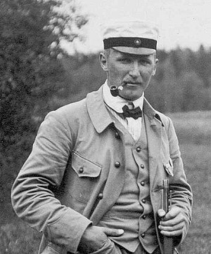 Åke Lundeberg - Åke Lundeberg at the 1912 Olympics
