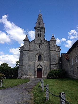 Aureil - Saint-Gaucher Church, Aureil
