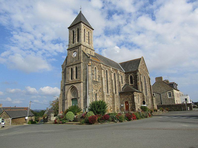 L'église Saint-Méloir de Tréméloir