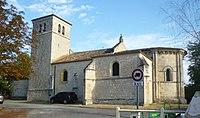 Église Saint-Martin de Villenave-d'Ornon vue rue.JPG