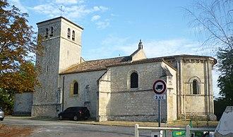 Villenave-d'Ornon - Image: Église Saint Martin de Villenave d'Ornon vue rue