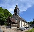 Église Saint-Michel du Brévedent. Vue ouest.jpg