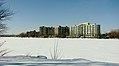 Île Paton, l'hiver, vue depuis la rive sud de la rivière des Prairies.JPG